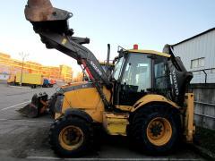 Backhoe loader VOLVO 71, 8000 m/h, 2 bucket + hammer, 364