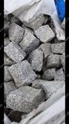Granite pavers heat-treated