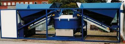 Mobile Concrete Plant SUMAB K-80 (80 m3 / h) Sweden