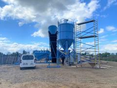 Мобильный бетонный завод Sumab K-60 (60 м3/ч) Швеция