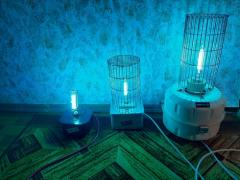 Quartz germicidal UV. lamp
