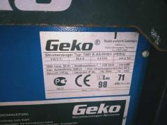 Selling electric generator Gecko 7401, 6.5 kW