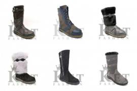 Selling wholesale online store of winter shoes, age 4 years